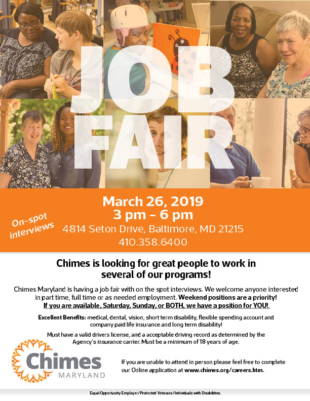 Tremendous Maryland Job Fair March 2019 Chimes Download Free Architecture Designs Scobabritishbridgeorg