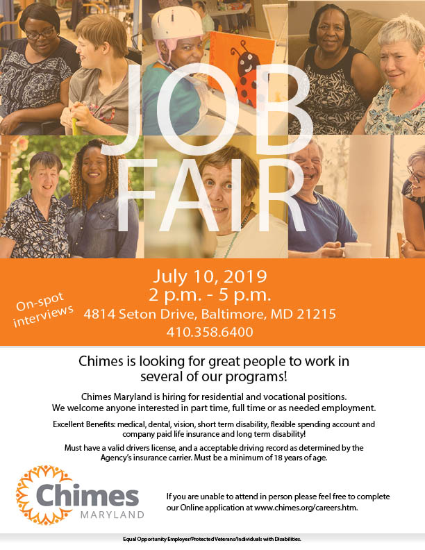Surprising July Maryland Job Fair Chimes Download Free Architecture Designs Scobabritishbridgeorg